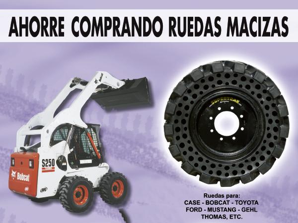 Spainffil oferta en ruedas macizas