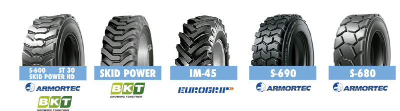 ruedas industriales de armortec, eurogrip, bkt