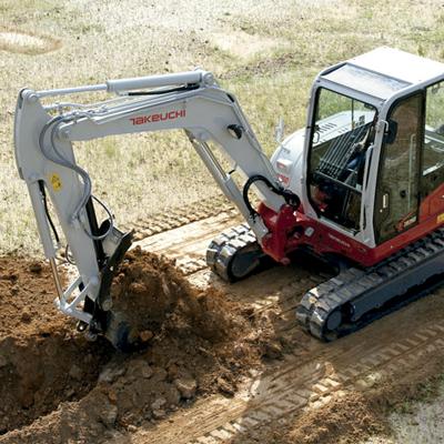 rueda para excavadora