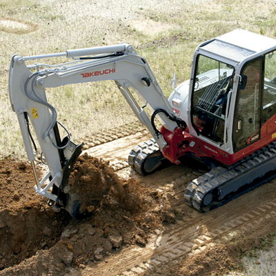 Venta de ruedas para excavadoras