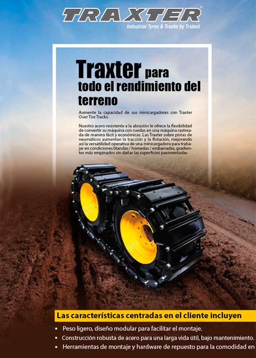 Minicargadoras Traxter